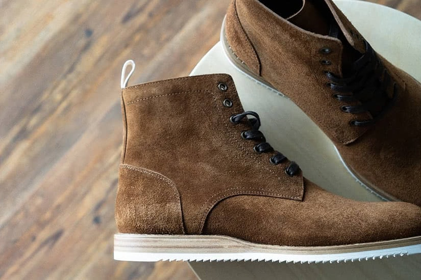 how to clean suede shoes oliver cabell sb boot - Luxe Digital