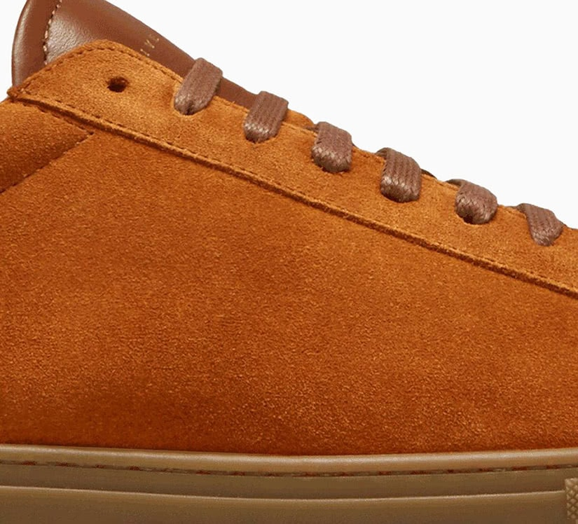 how to clean suede shoes oliver cabell sneakers - Luxe Digital