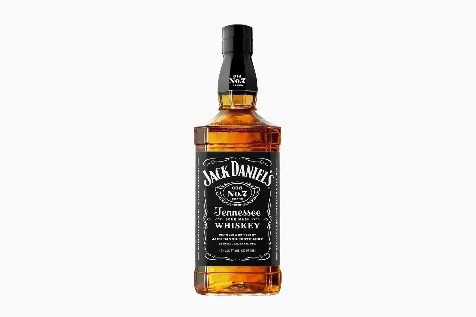El viejo no de Jack Daniel.  Tamaño de precio de 7 botellas - Luxe Digital
