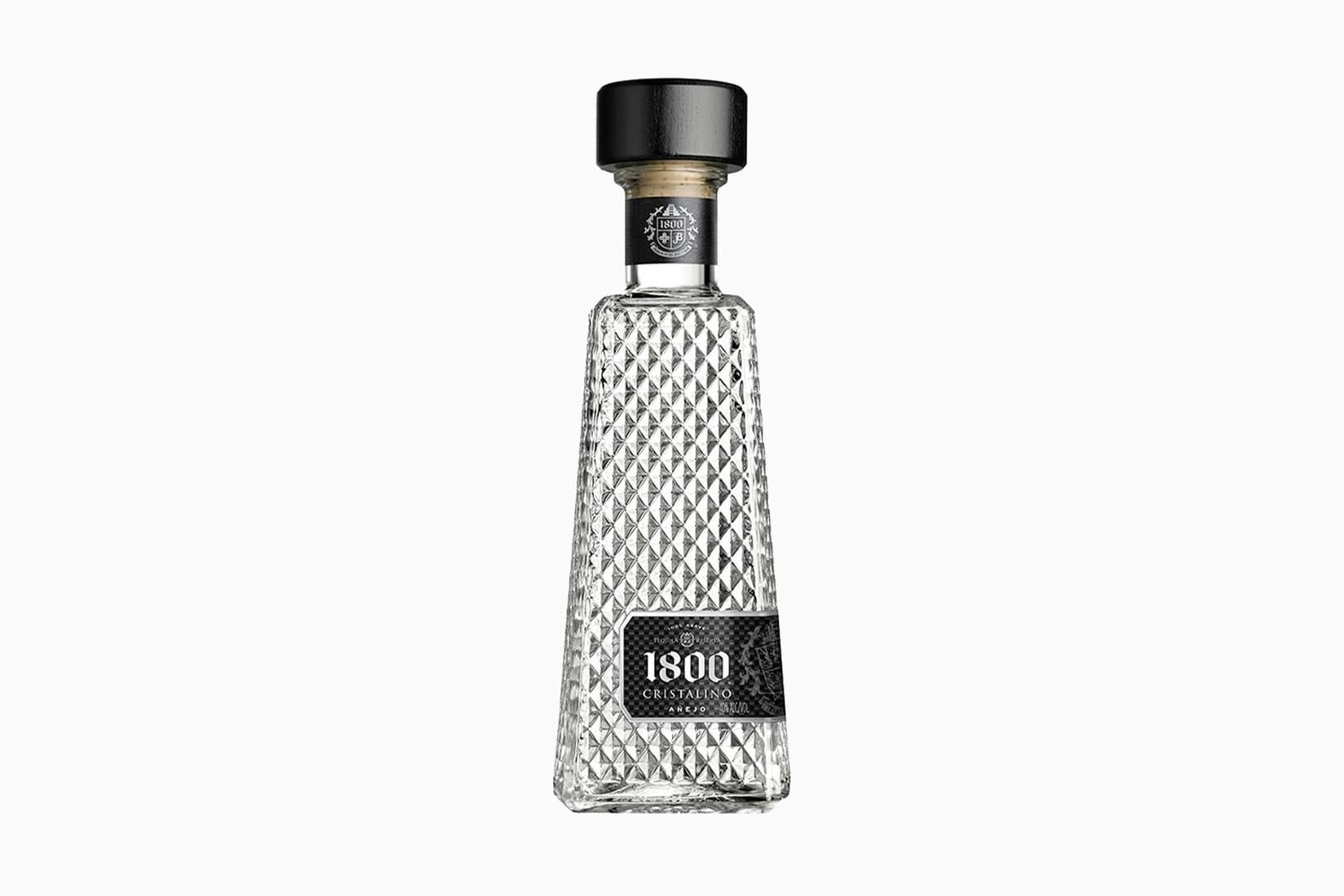 1800 tequila cristalino botella precio tamaño - Luxe Digital