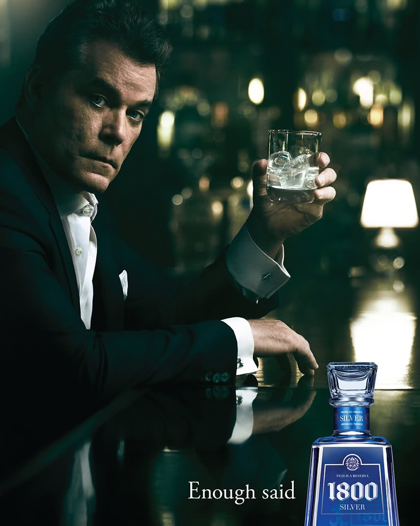 1800 tequila ray liotta comercial - Luxe Digital
