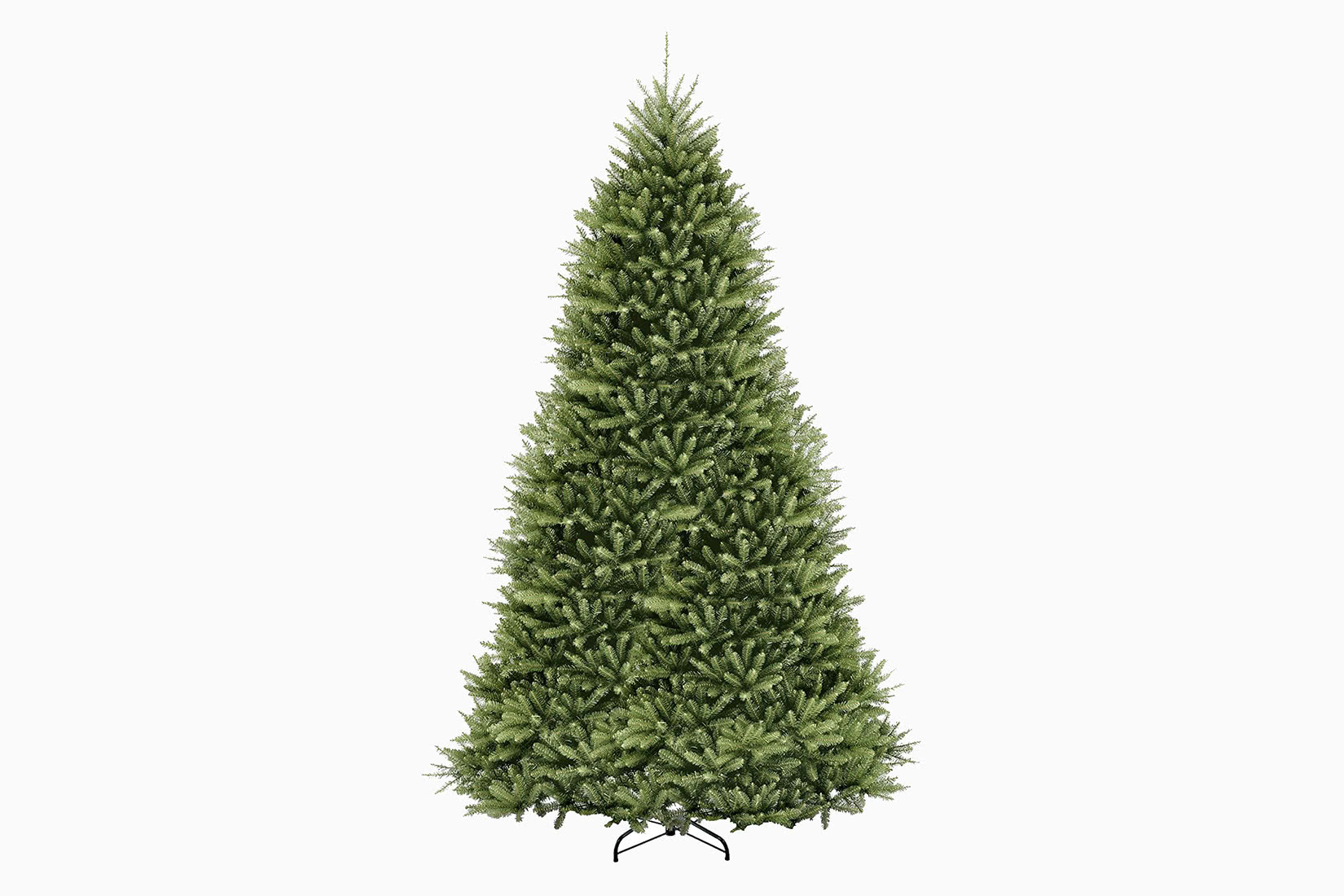 best artificial Christmas tree 12 ft national tree company review - Luxe Digital