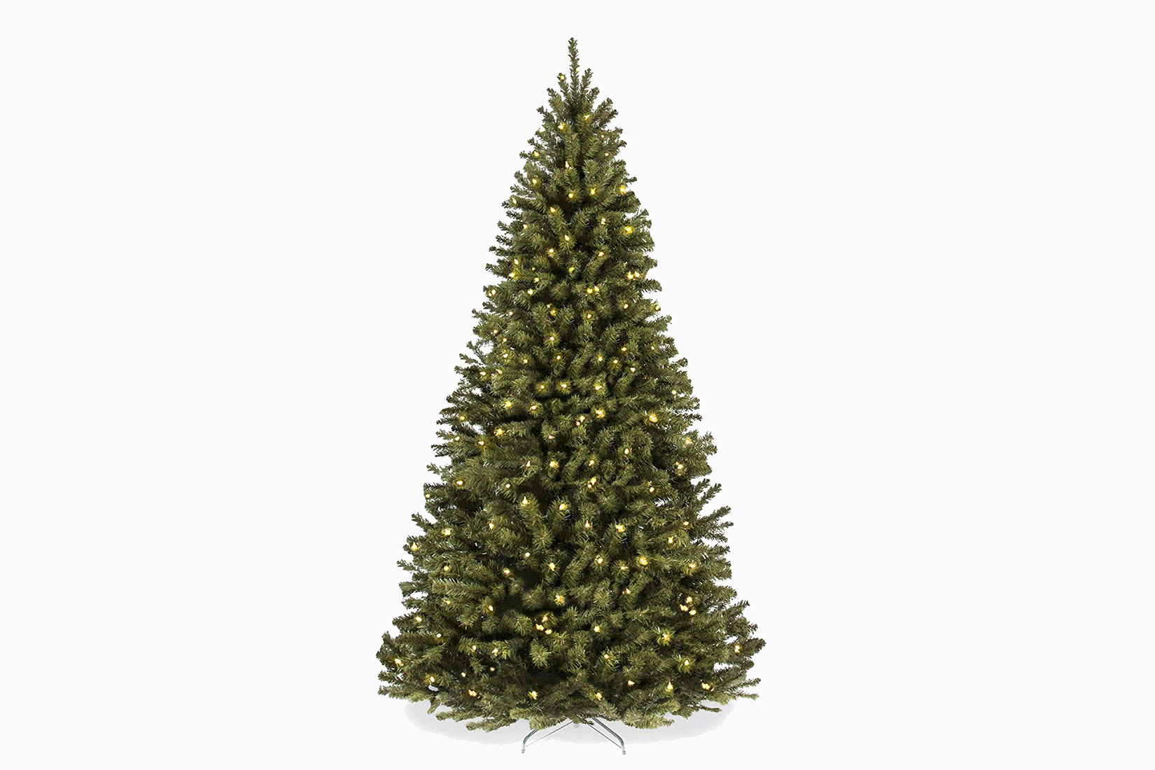 best artificial Christmas tree budget choice review - Luxe Digital