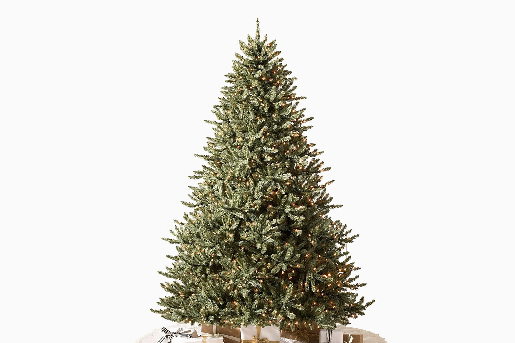 best artificial Christmas tree led balsam hill 4.5 review - Luxe Digital