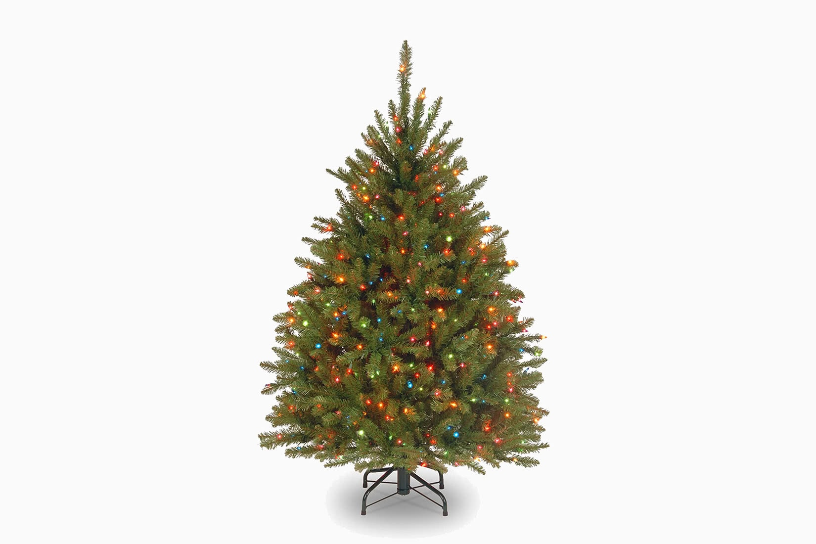 best artificial Christmas tree pre-lit national tree company review - Luxe Digital