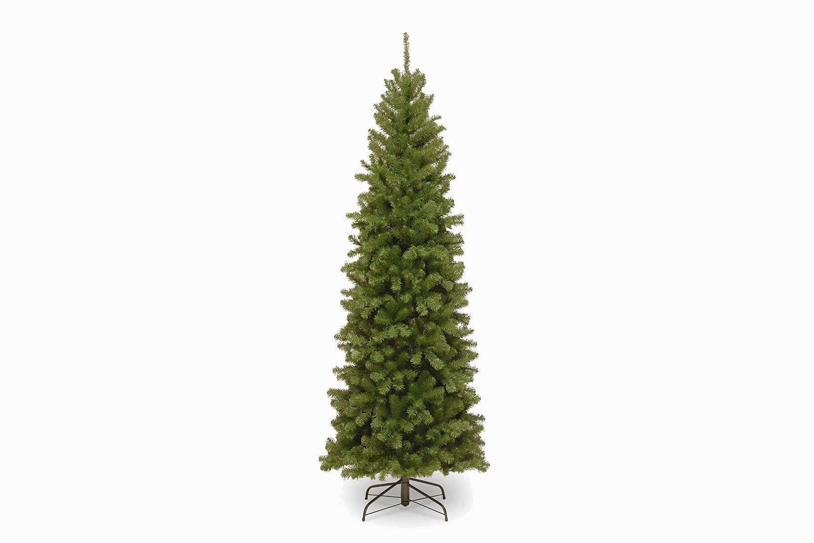 best artificial Christmas tree slim national tree company pencil review - Luxe Digital