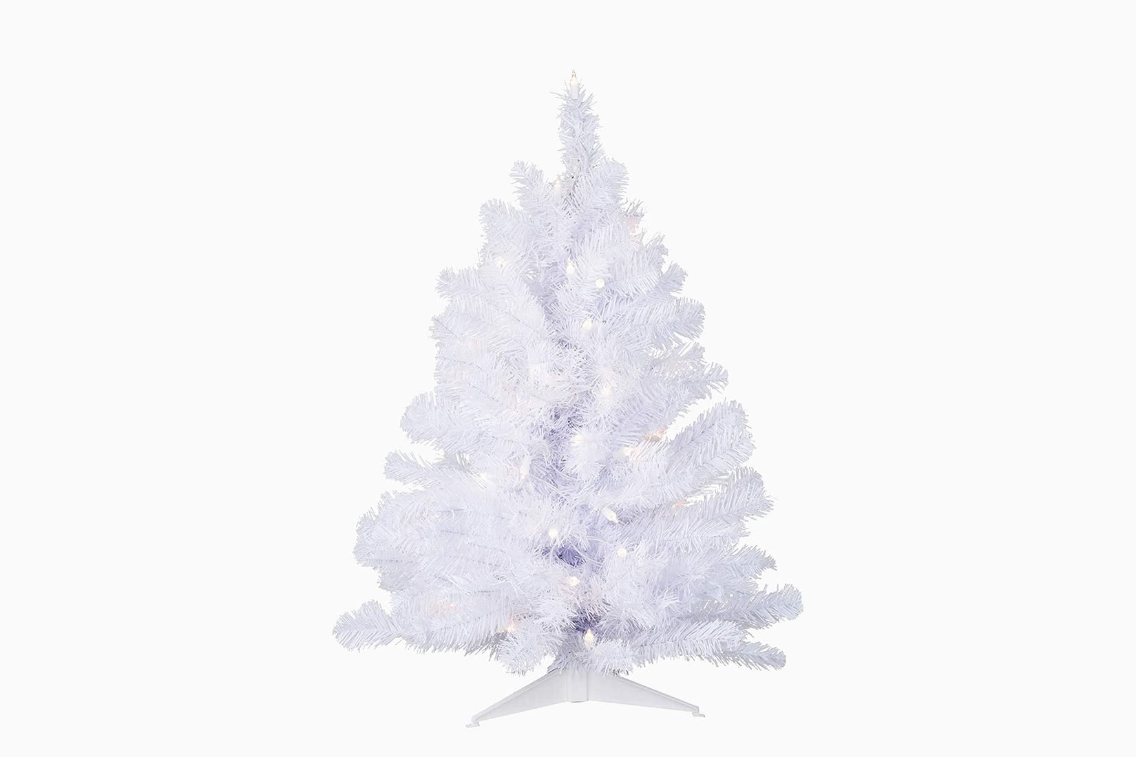 best artificial Christmas tree small vickerman review - Luxe Digital