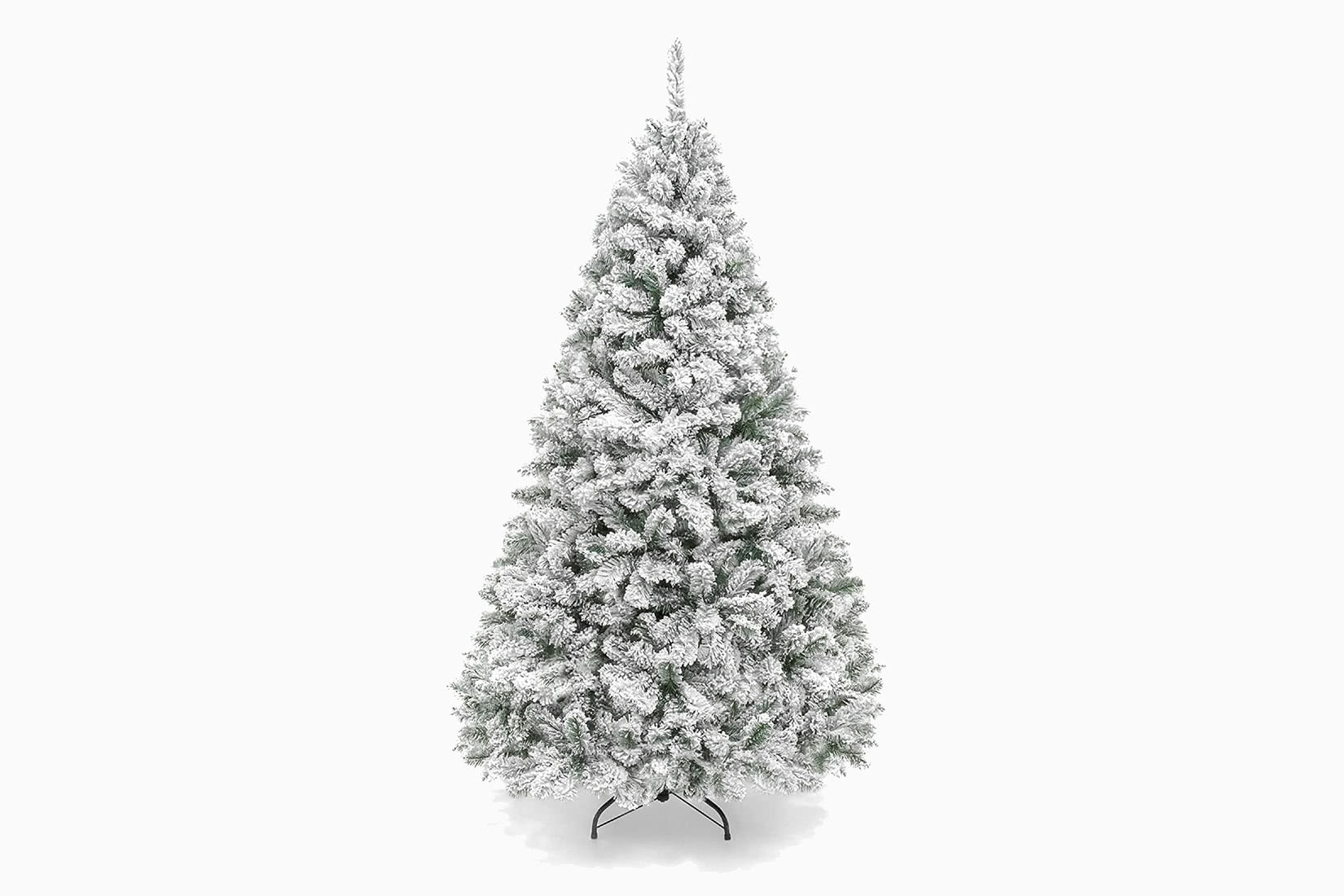 best artificial Christmas tree snow choice review - Luxe Digital