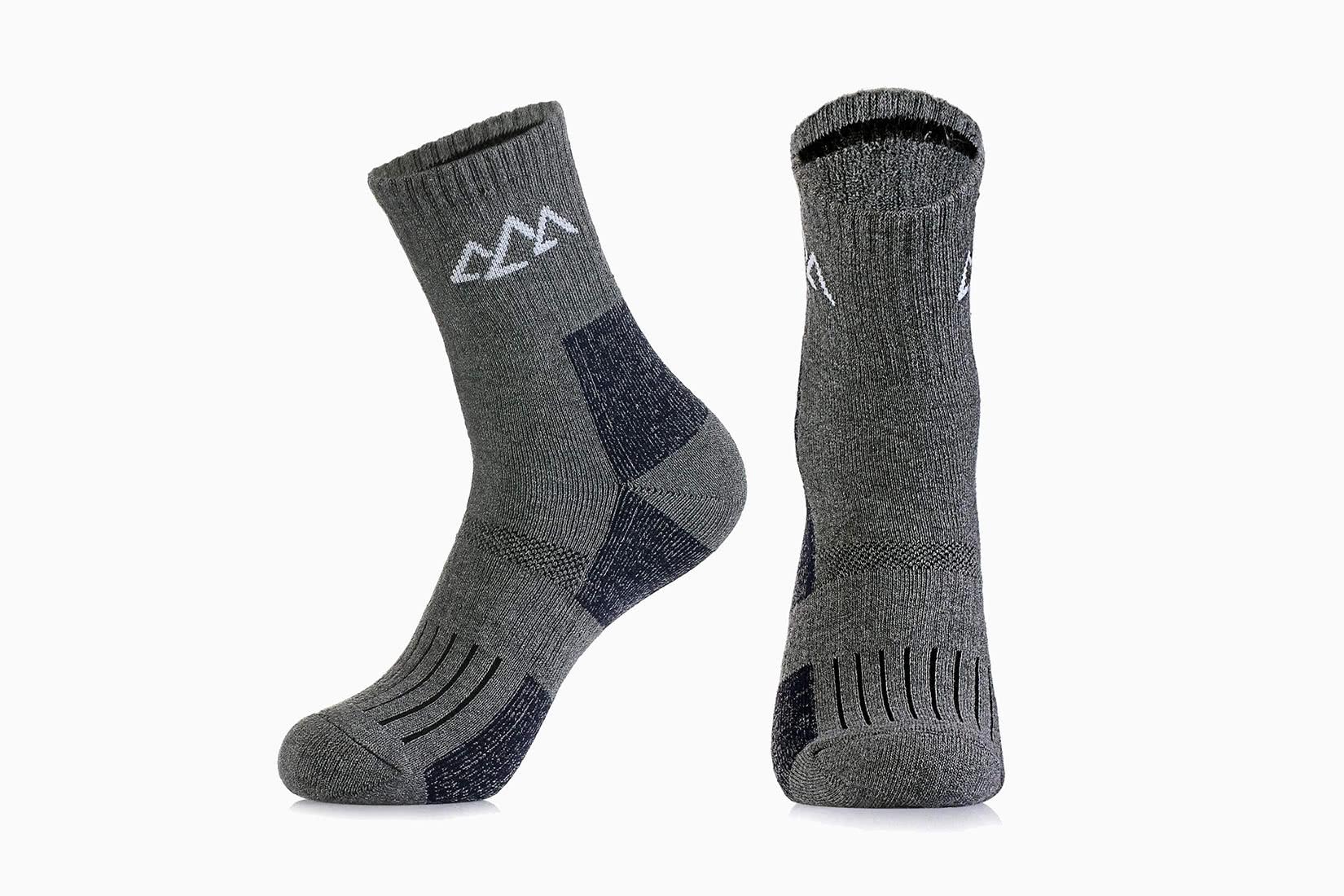 best socks men hiking innotree review - Luxe Digital