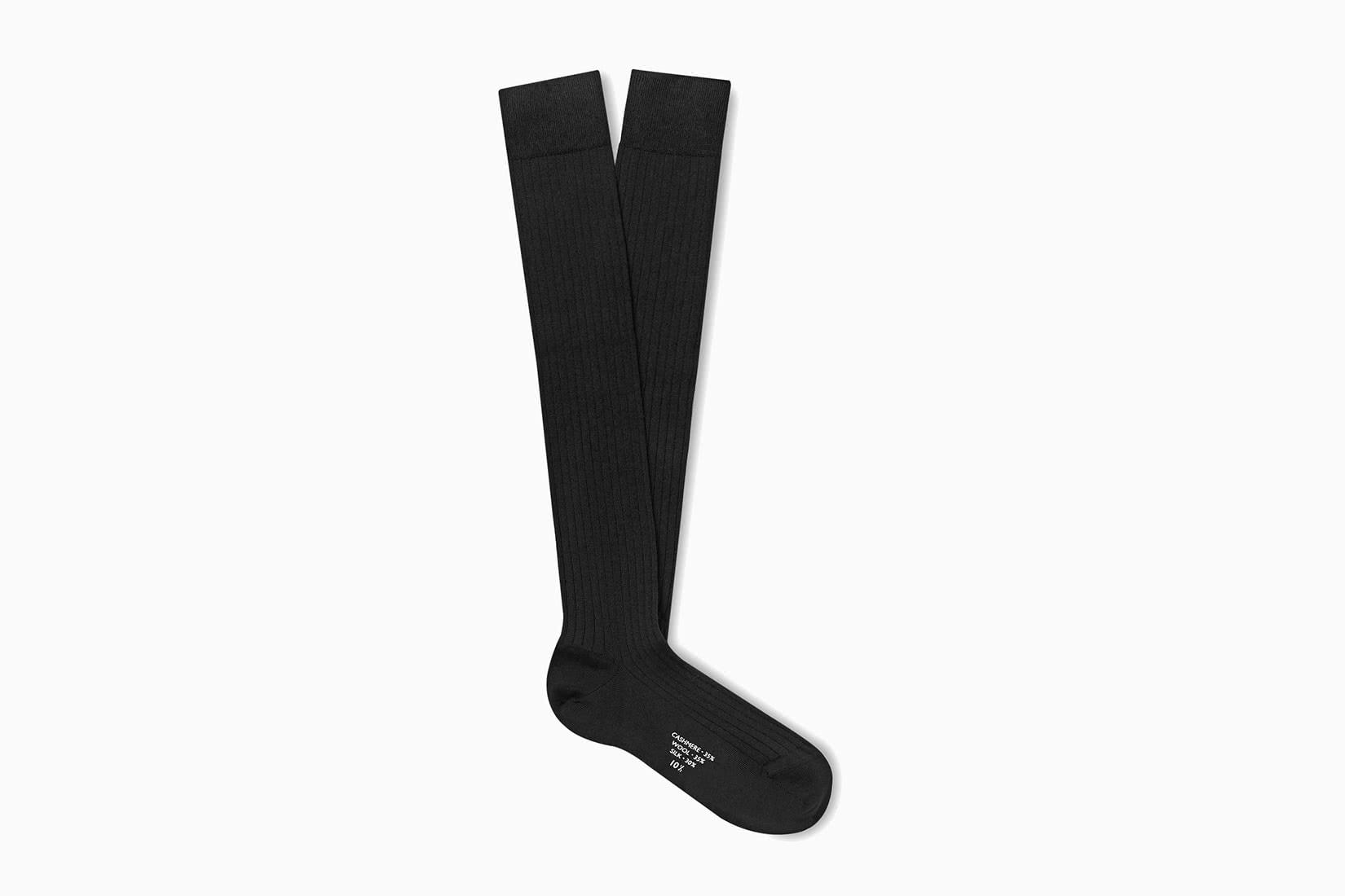 best socks men over the calf charvet review - Luxe Digital