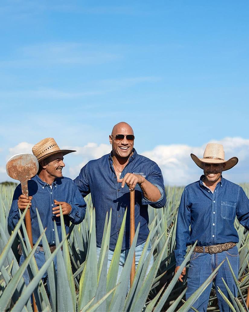 teremana tequila dwayne johnson the rock mexico - Luxe Digital