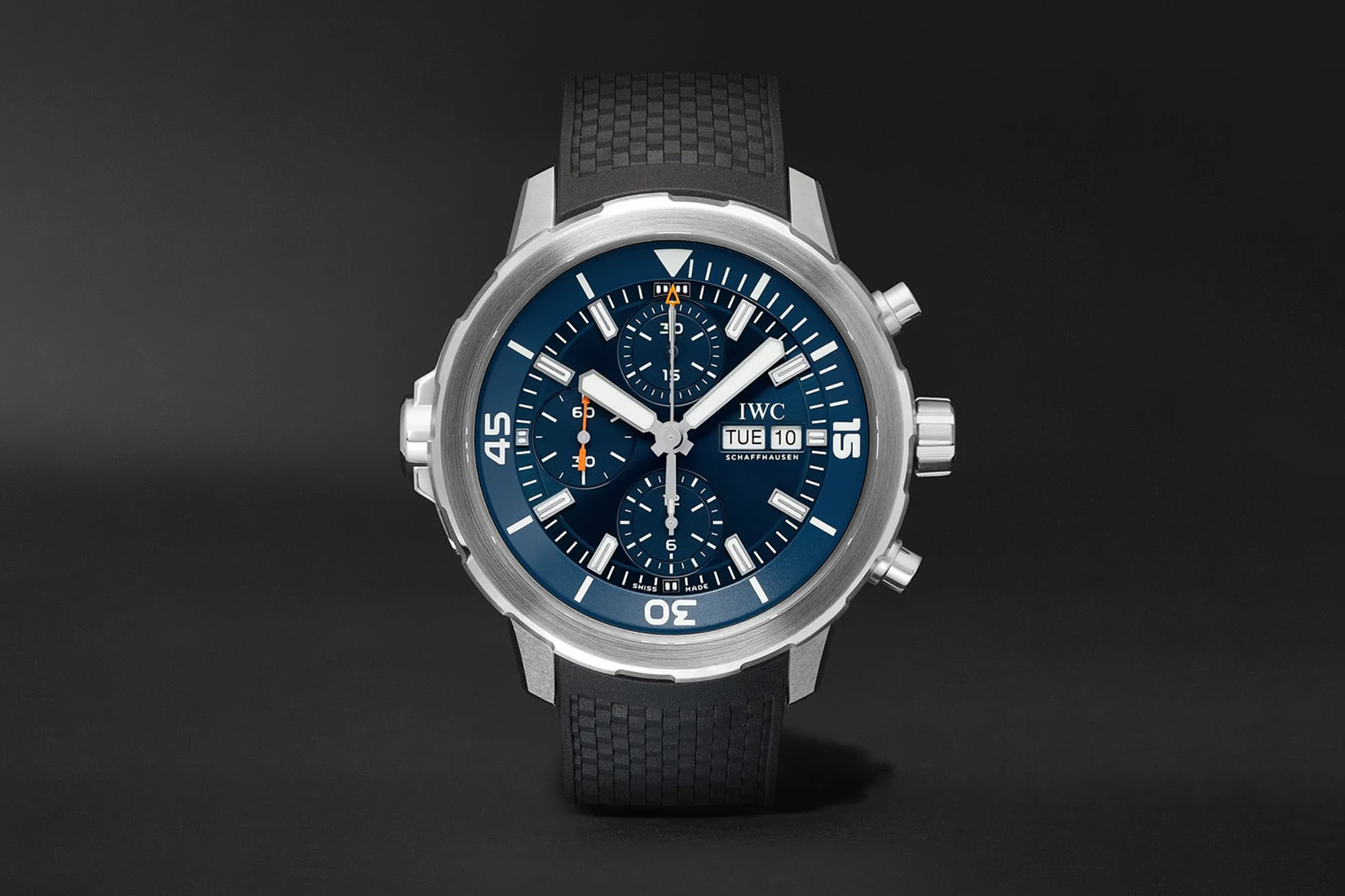 iwc luxury watches aquatimer expedition jacques yves cousteau luxe digital