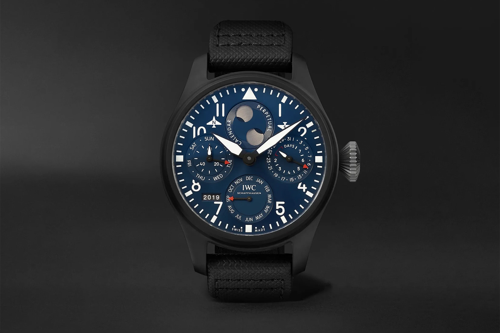 iwc luxury watches big pilot s perpetual calendar rodeo luxe digital