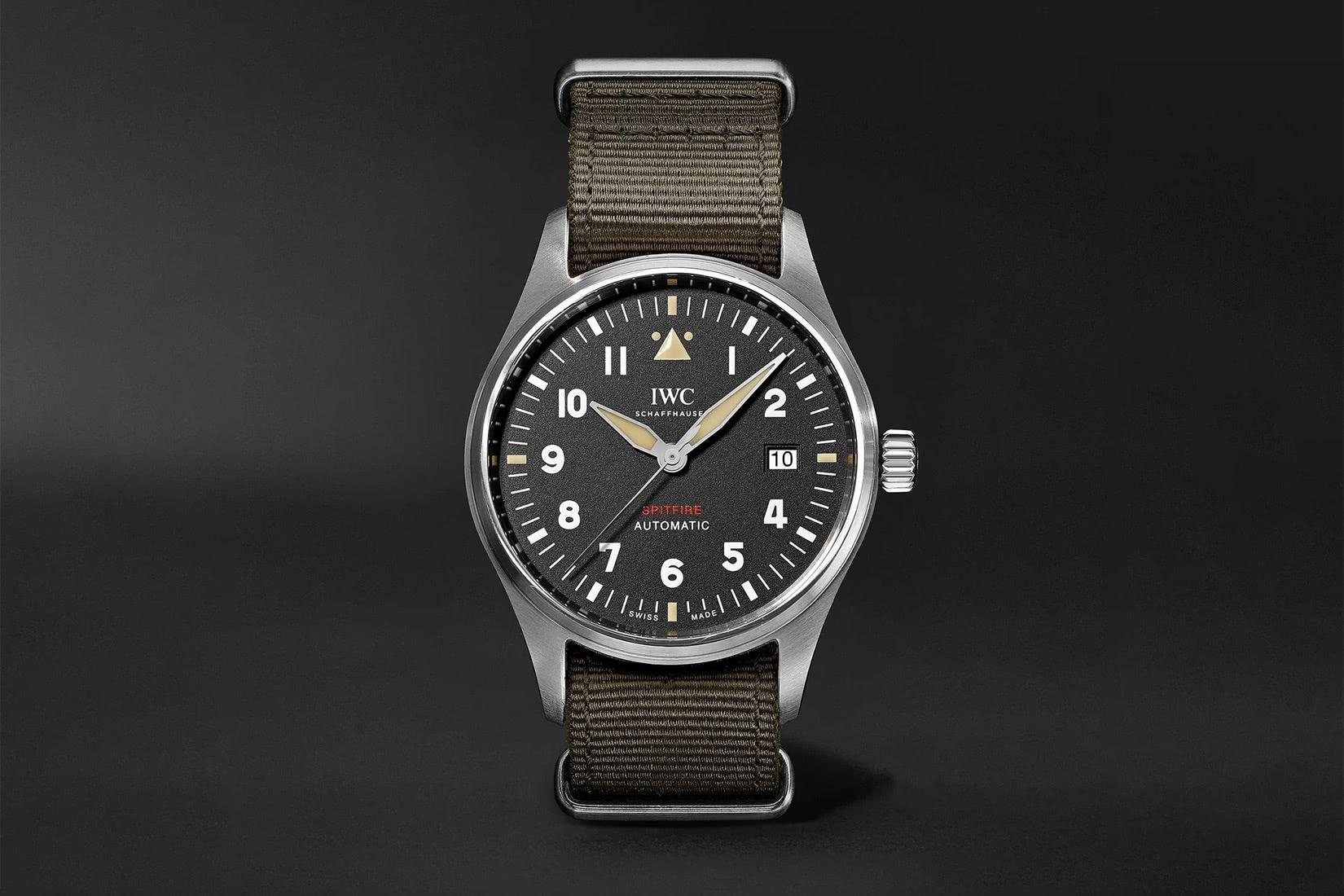 iwc luxury watches pilot's spitfire luxe digital