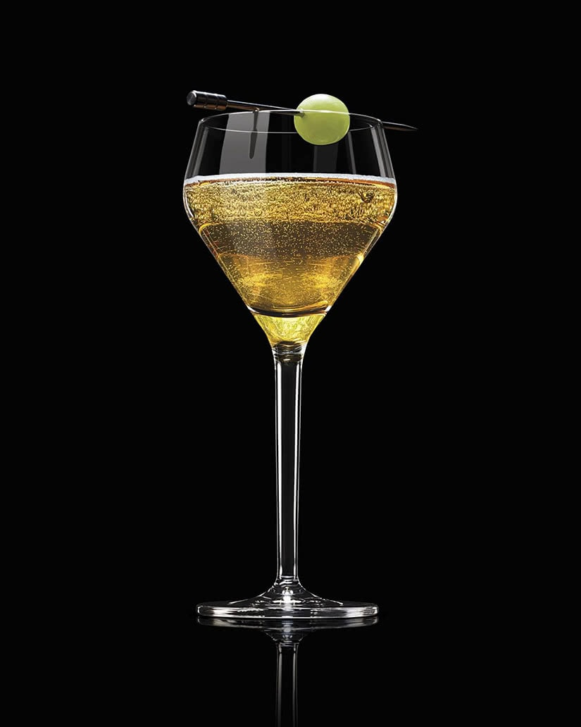 courvoisier cocktail recipe ingredients french 75 - Luxe Digital