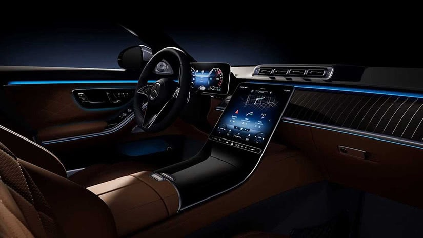 most expensive cars 2021 Mercedes Benz Series S interior - Luxe Digital
