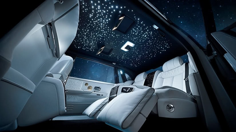 most expensive cars 2021 Rolls Royce Phantom interior - Luxe Digital