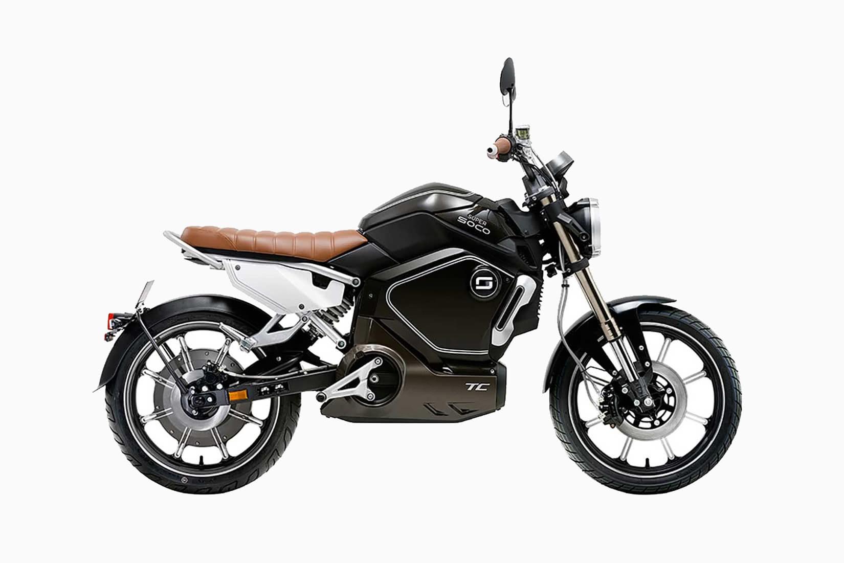 best electric motorcycles 2021 luxury Super Soco TC - Luxe Digital