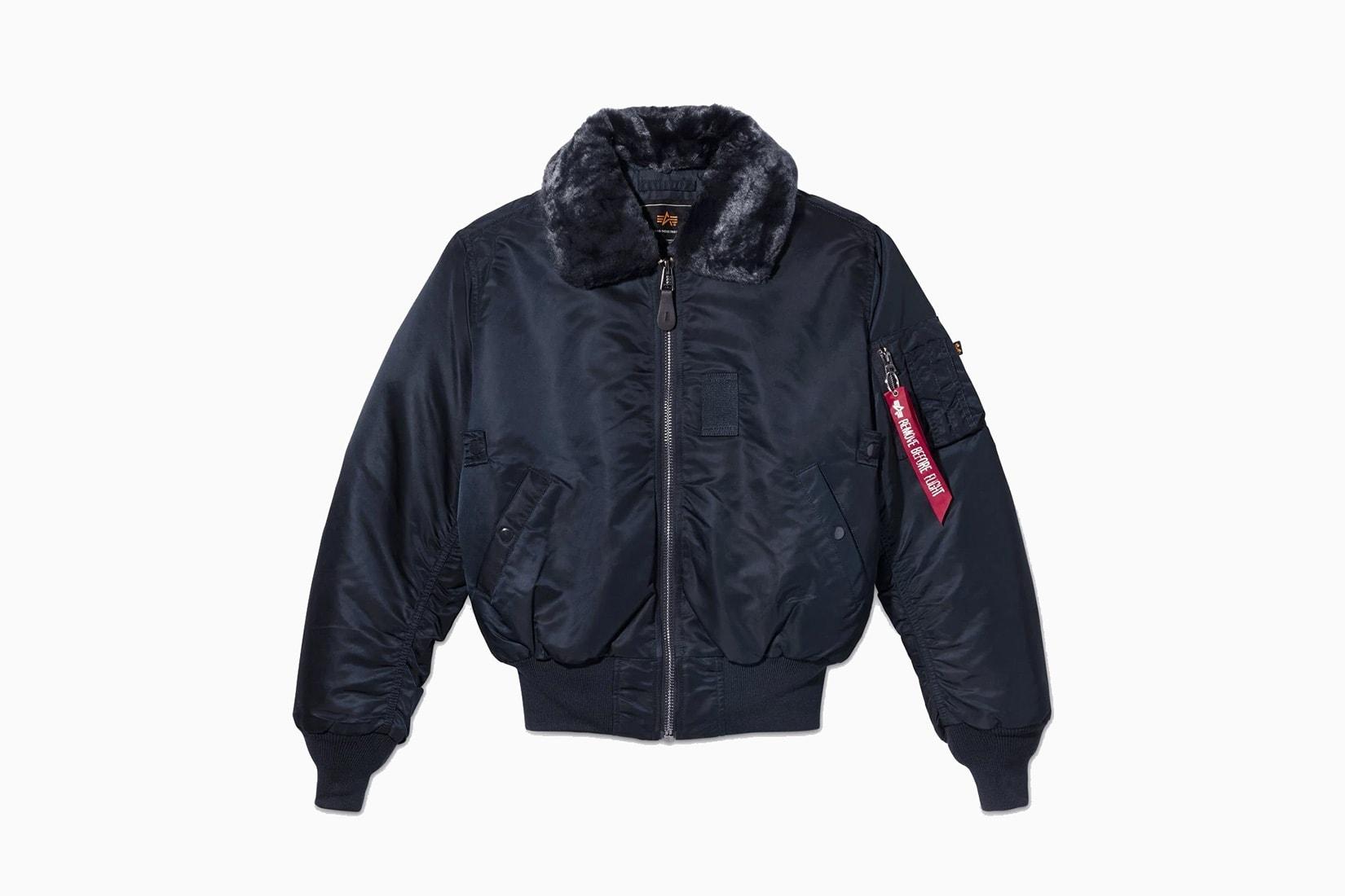 best winter coats men bomber jacket alpha industries b-15 review - Luxe Digital