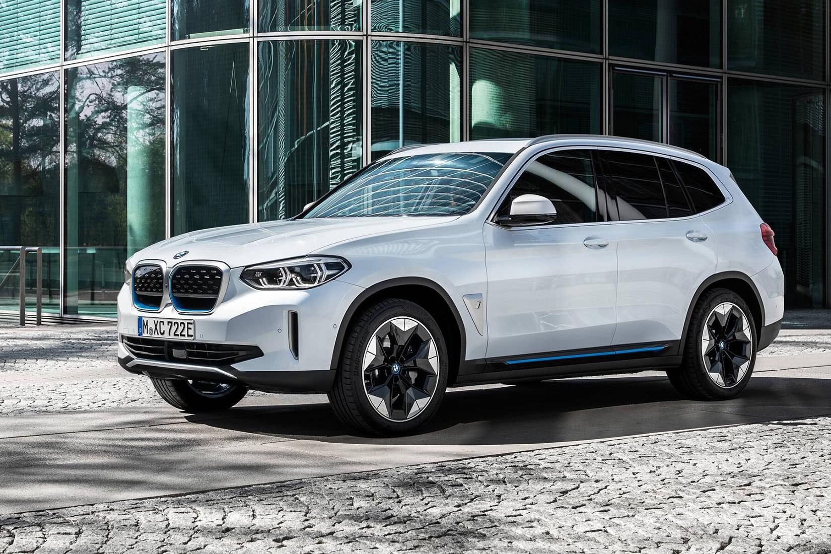 best luxury suv 2021 BMW iX3 - Luxe Digital