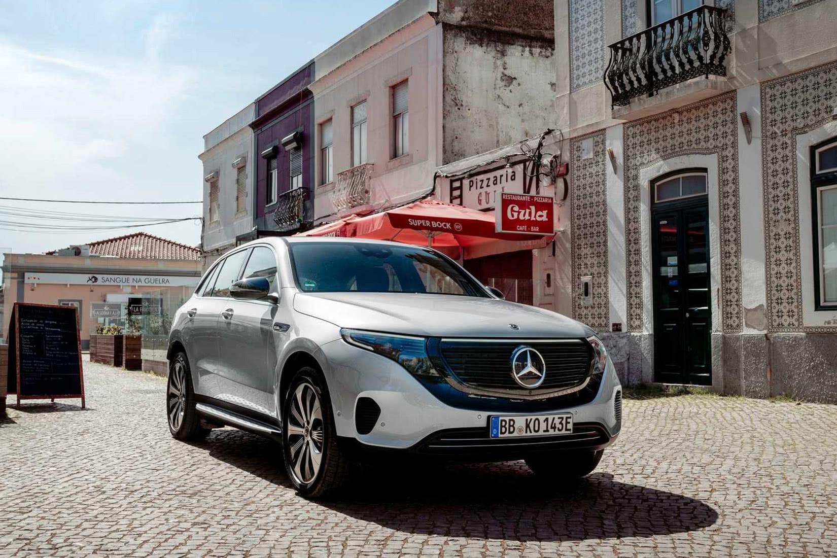 best luxury suv 2021 Mercedes-Benz EQC - Luxe Digital
