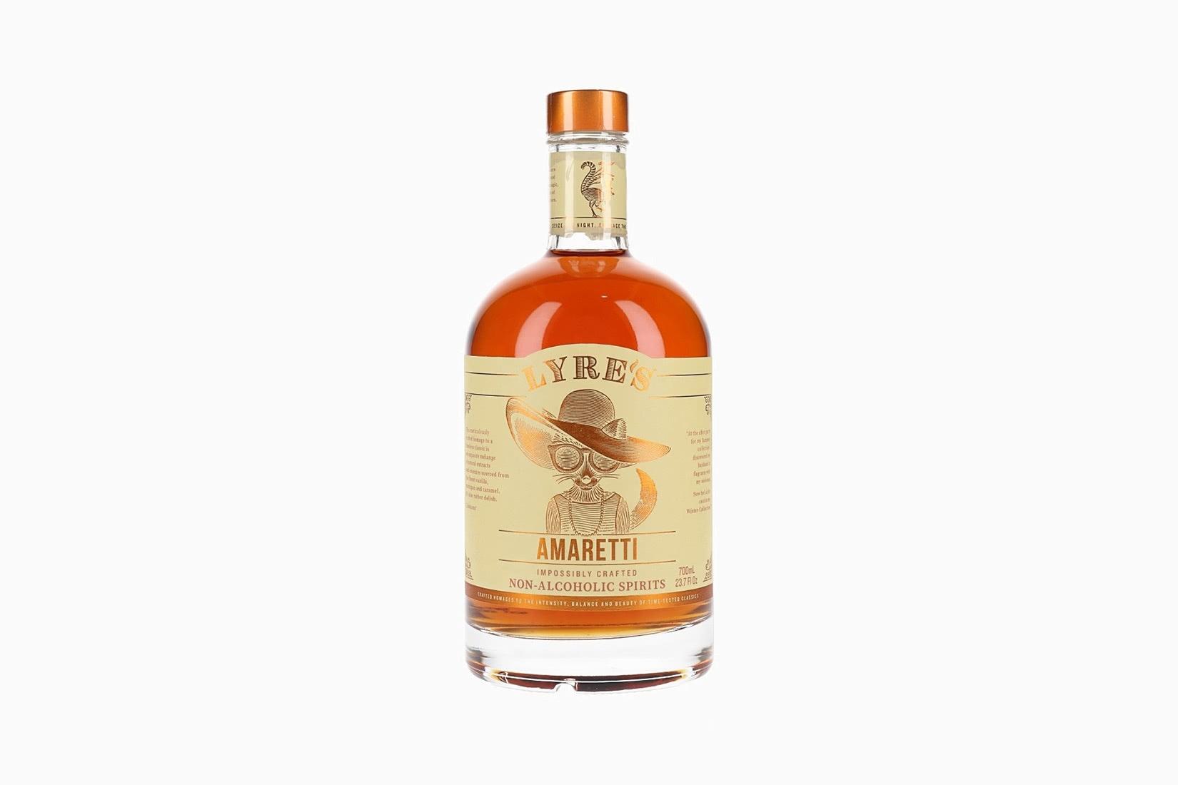 best non alcoholic spirits lyres amaretti luxe digital