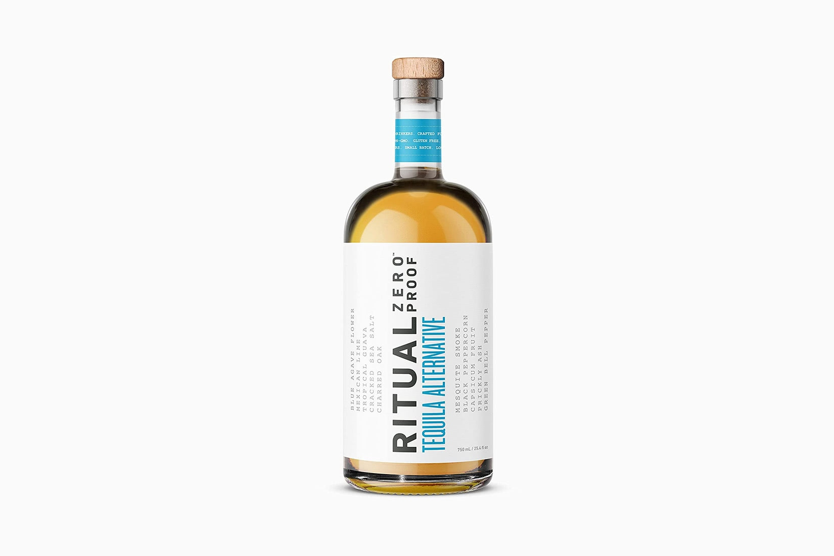 best non alcoholic spirits ritual zero proof tequila alternative luxe digital