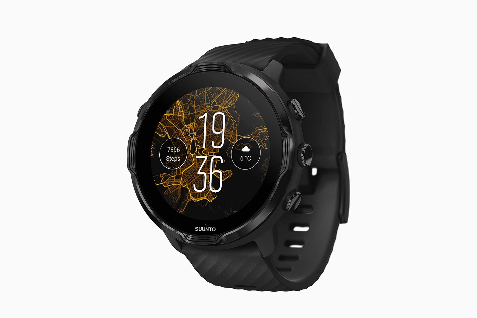 best fitness trackers outdoors Suunto 7 - Luxe Digital