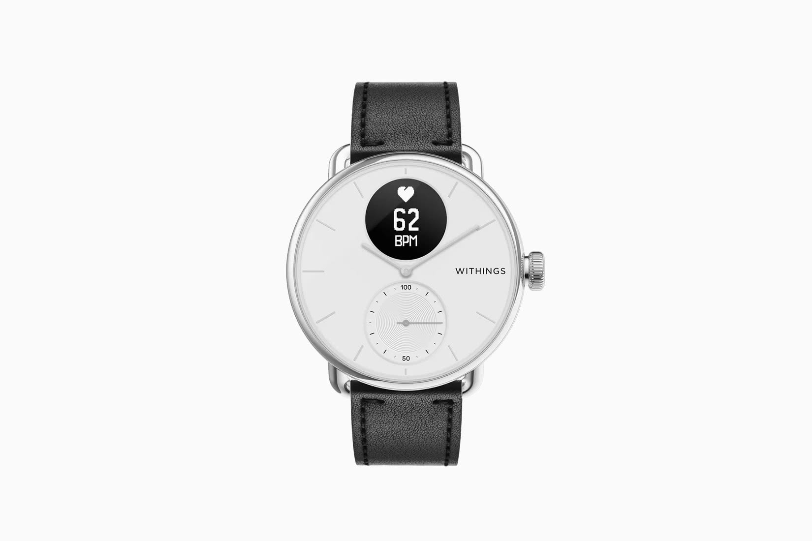 best fitness trackers oxygen Withings ScanWatch - Luxe Digital