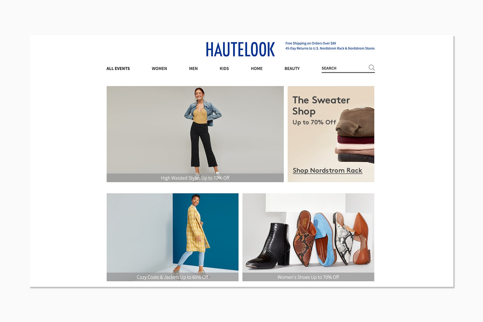 best luxury private sales discount website hautelook - Luxe Digital