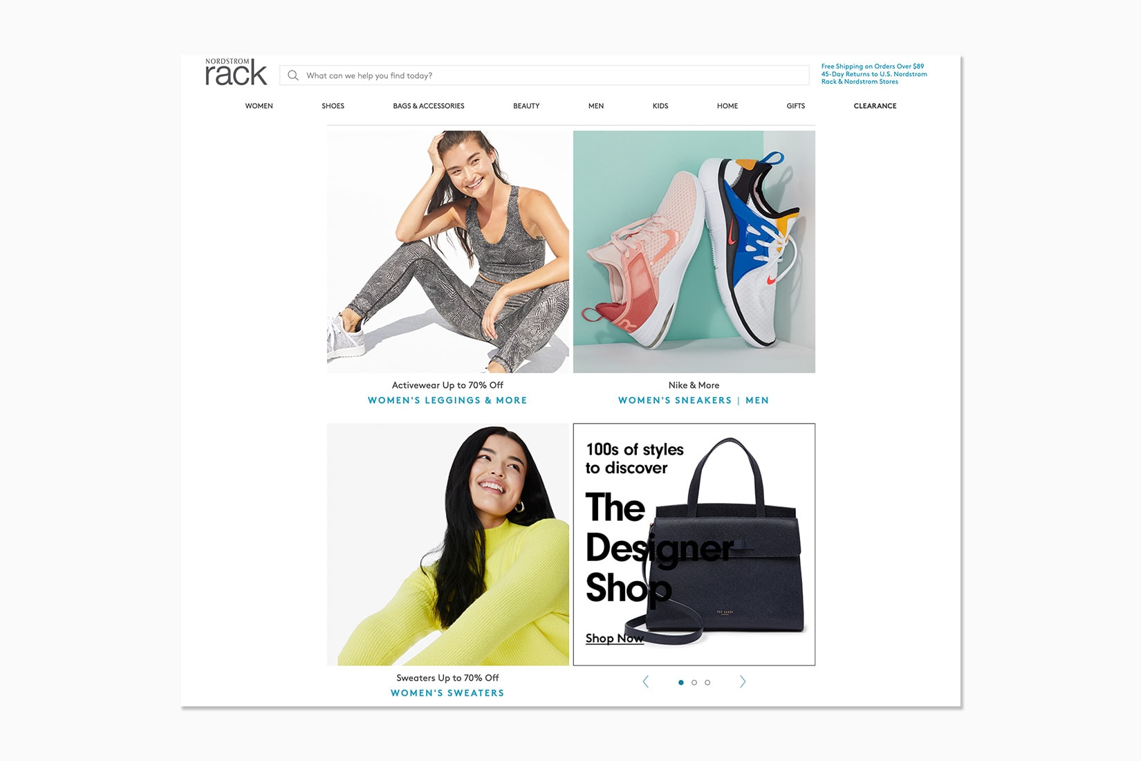 best luxury private sales discount website nordstrom rack - Luxe Digital