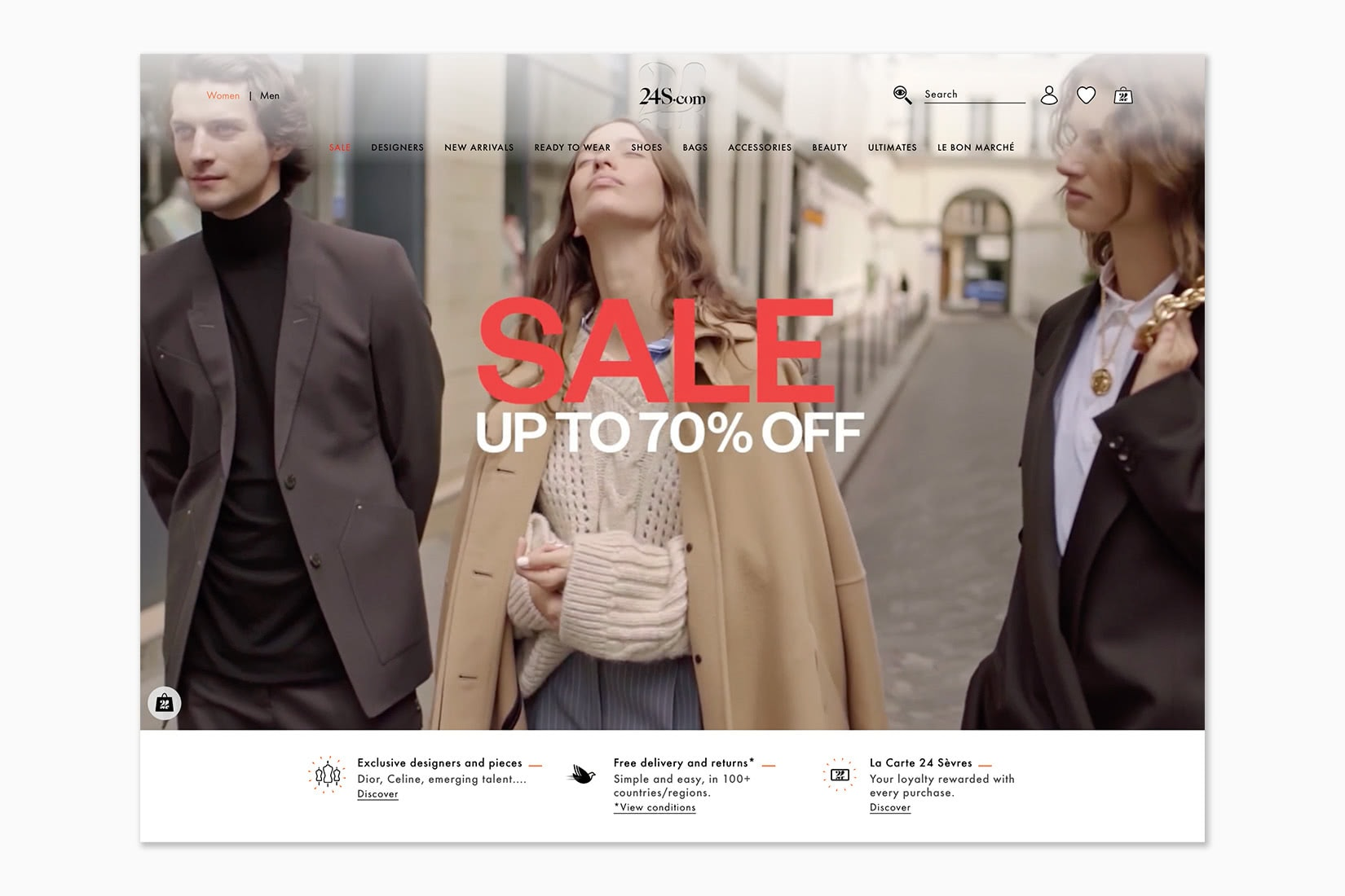 best online shopping sites women 24s - Luxe Digital