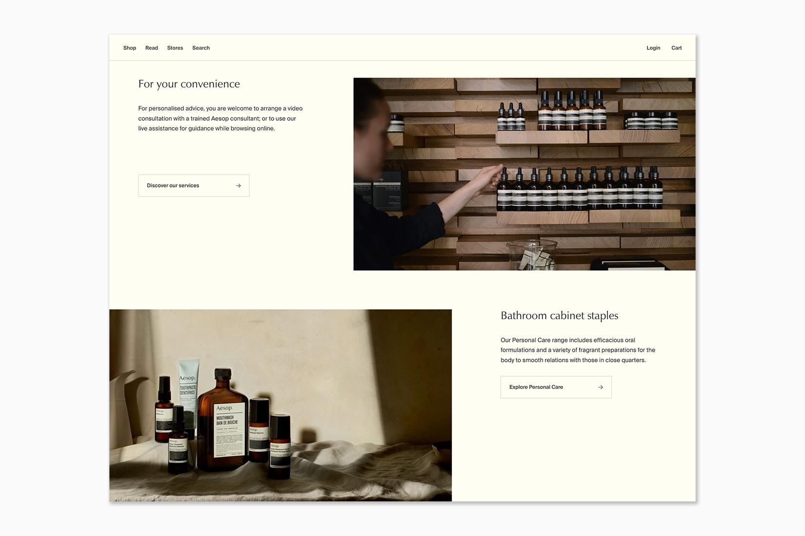 best online shopping sites women aesop - Luxe Digital