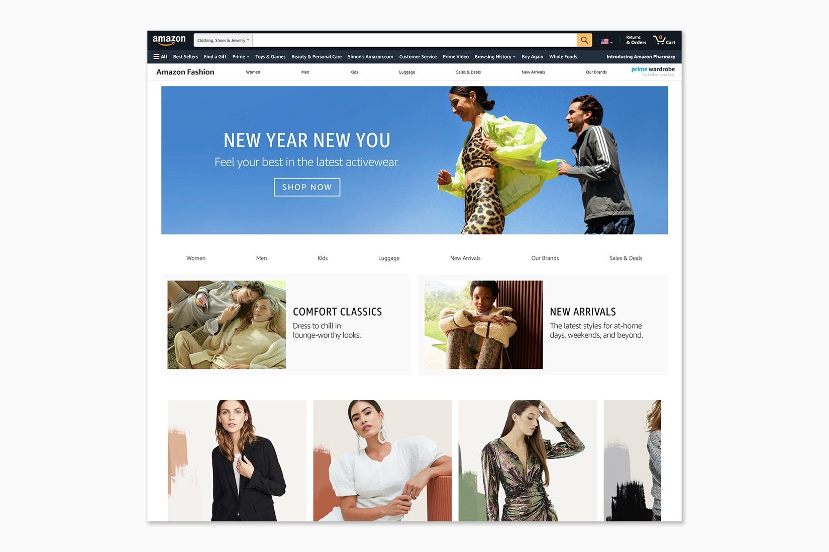 best online shopping sites women Amazon Fashion - Luxe Digital