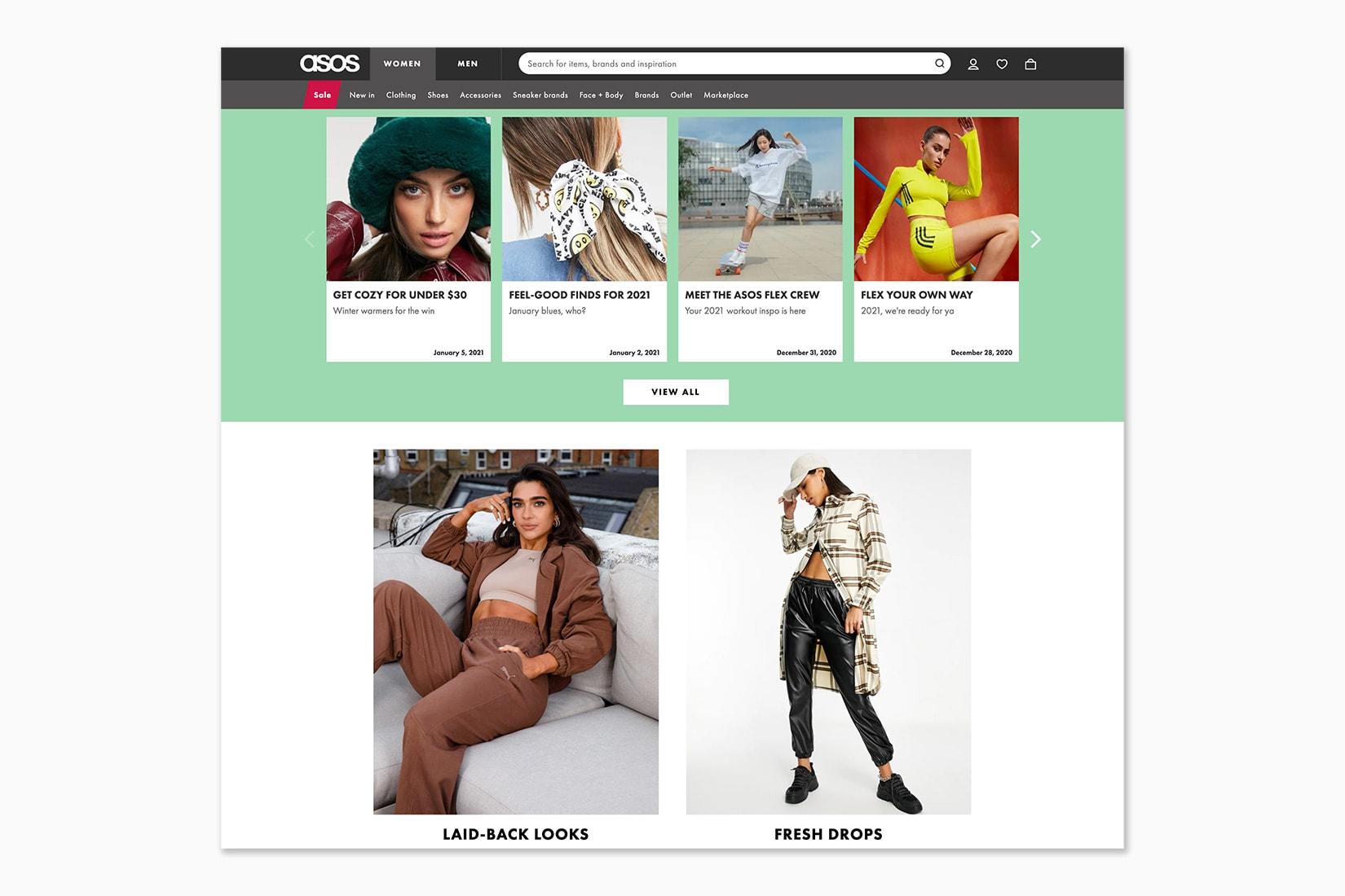 best online shopping sites women ASOS - Luxe Digital