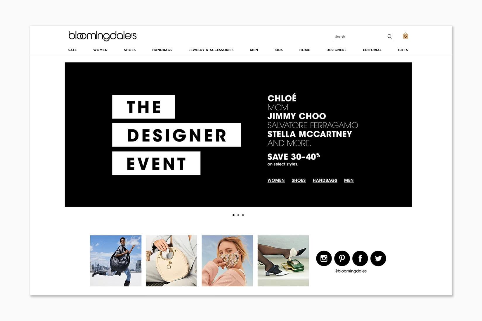 best online shopping sites women bloomingdale's - Luxe Digital