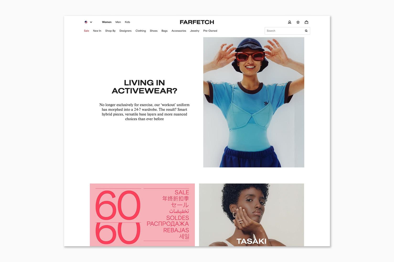 best online shopping sites women FARFETCH - Luxe Digital
