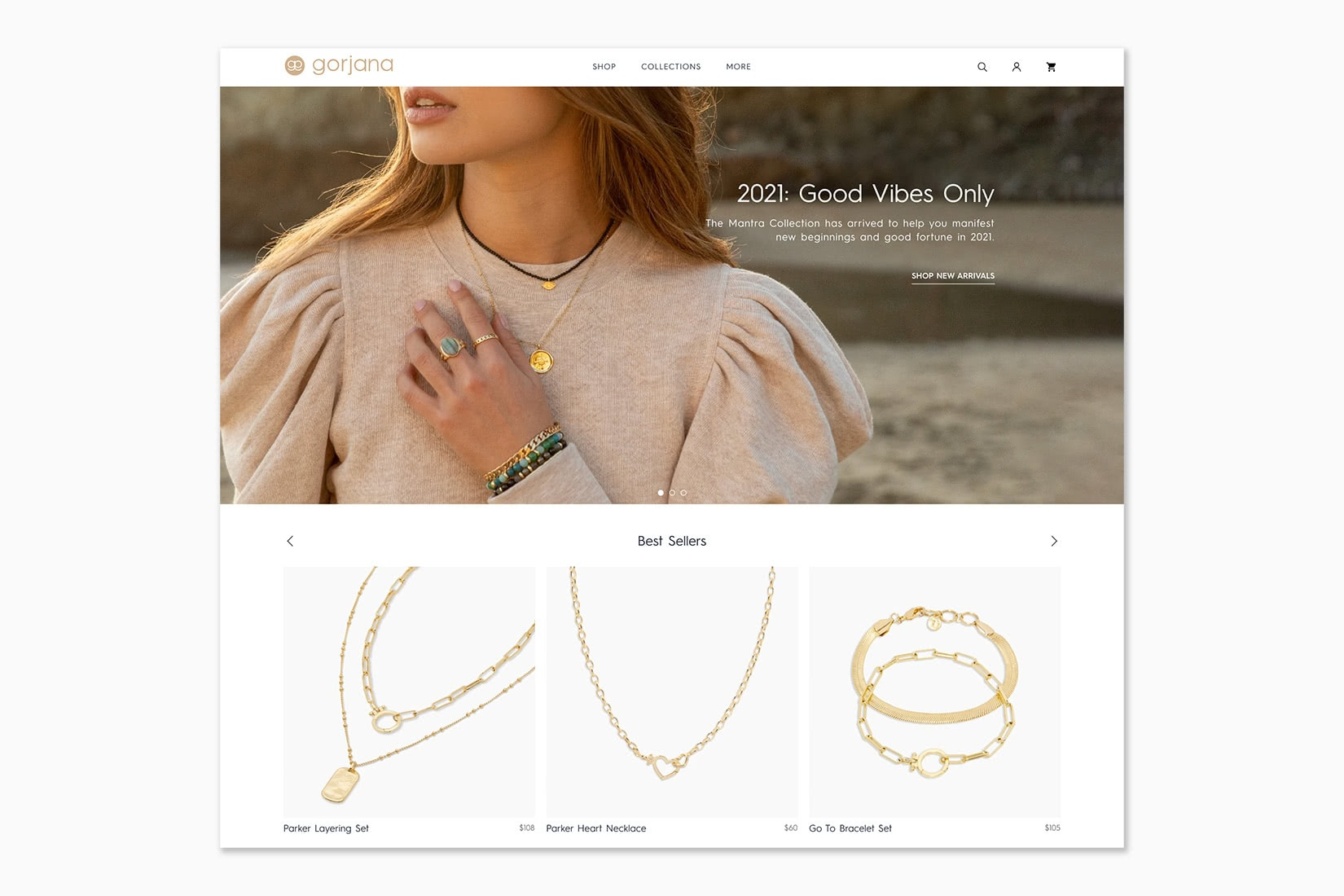 best online shopping sites women gorjana - Luxe Digital