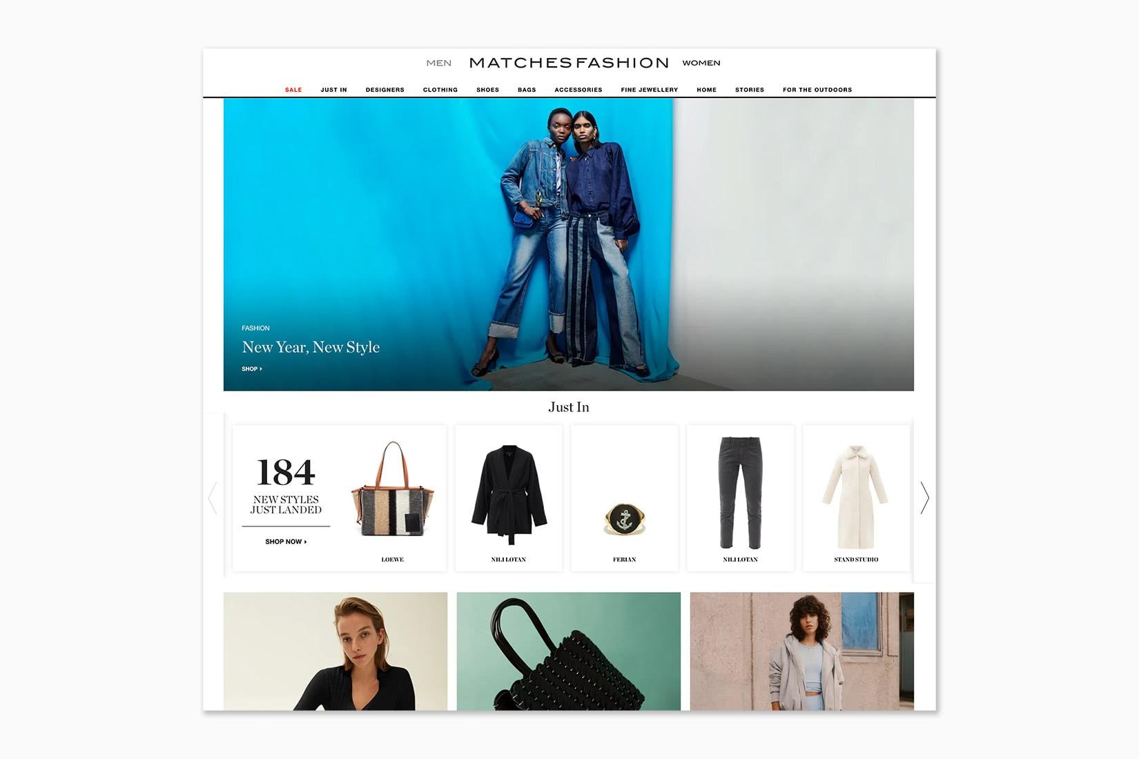 best online shopping sites women MatchesFashion - Luxe Digital