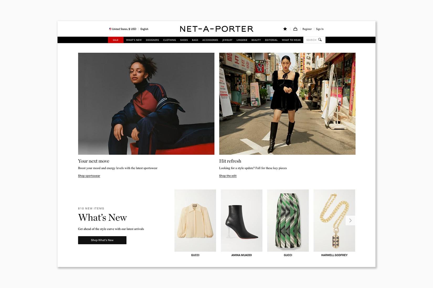 best online shopping sites women NET-A-PORTER - Luxe Digital