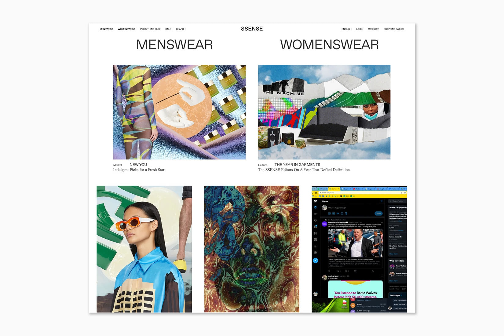 best online shopping sites women SSENSE - Luxe Digital