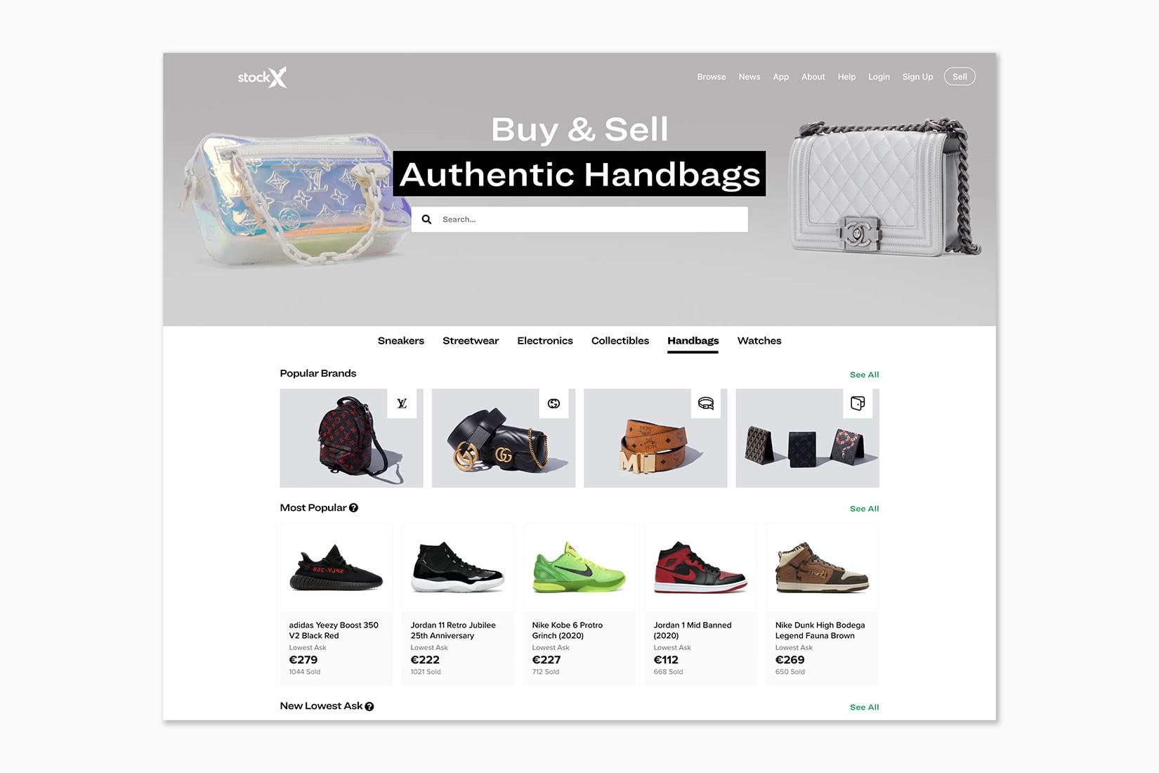 best online shopping sites women stockx - Luxe Digital