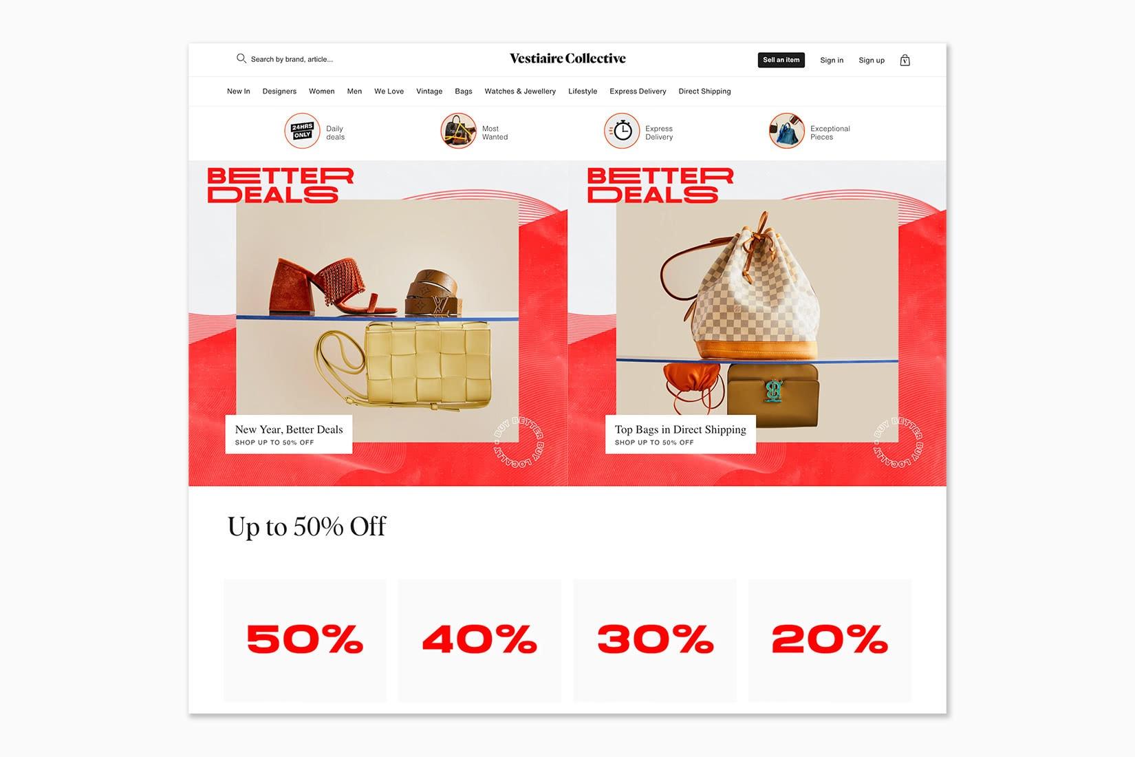 best online shopping sites women vestiaire collective - Luxe Digital