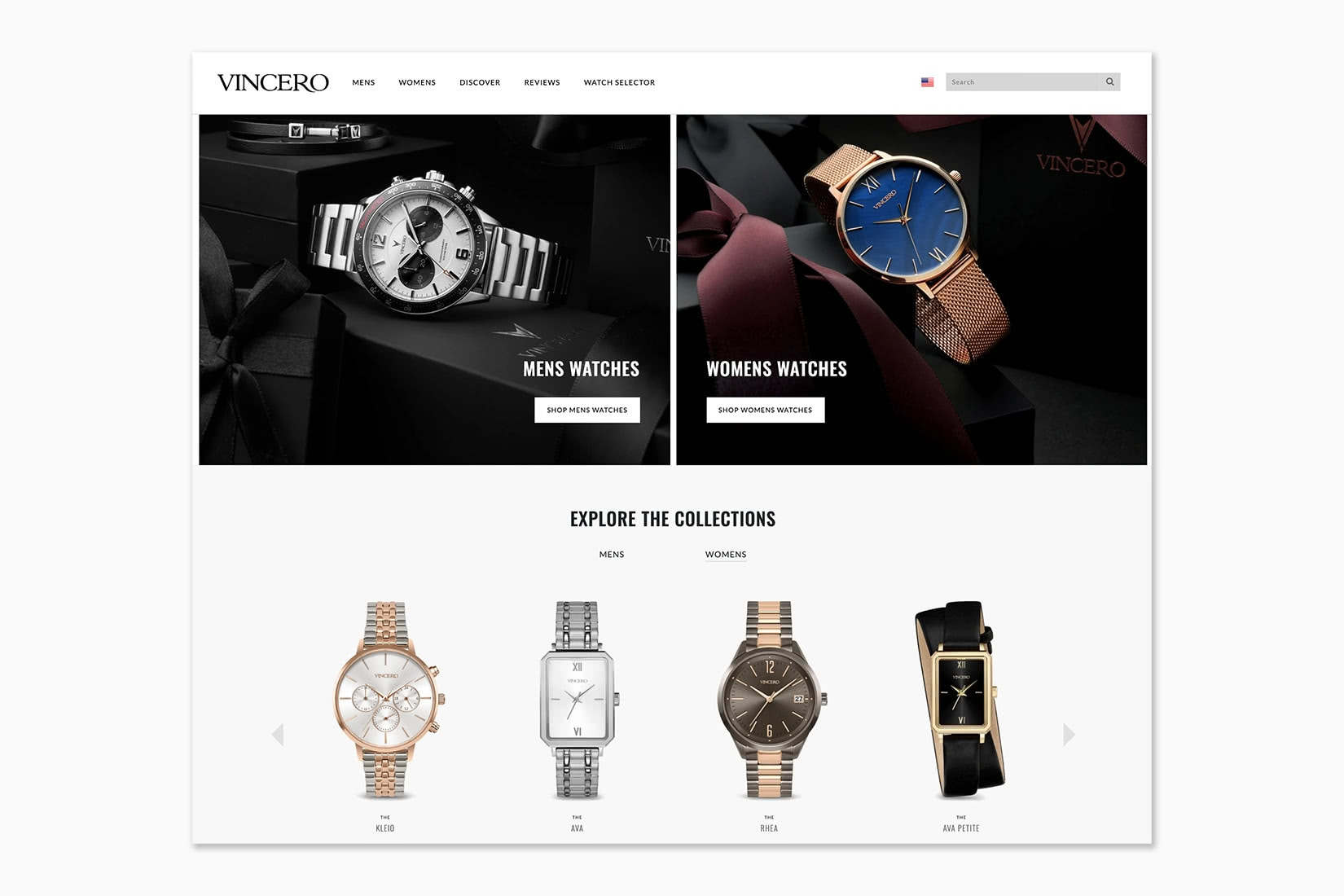 best online shopping sites women Vincero - Luxe Digital