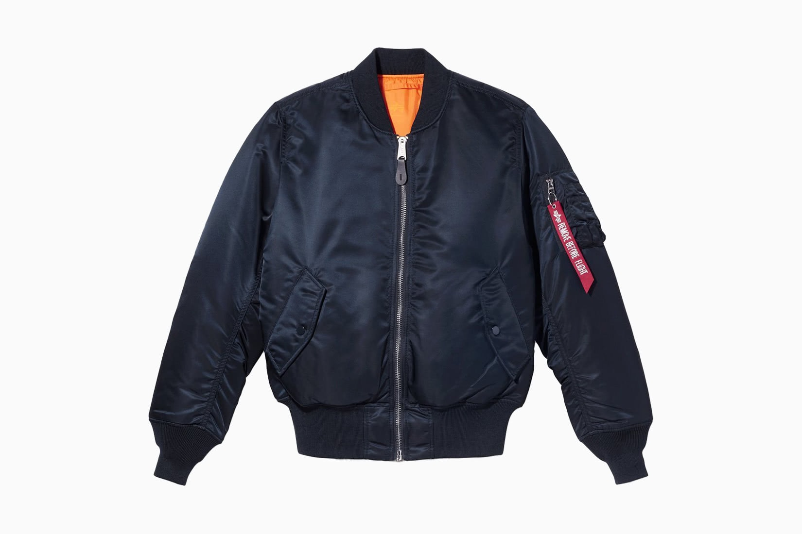 best men bomber jacket Alpha Industries MA-1 review - Luxe Digital