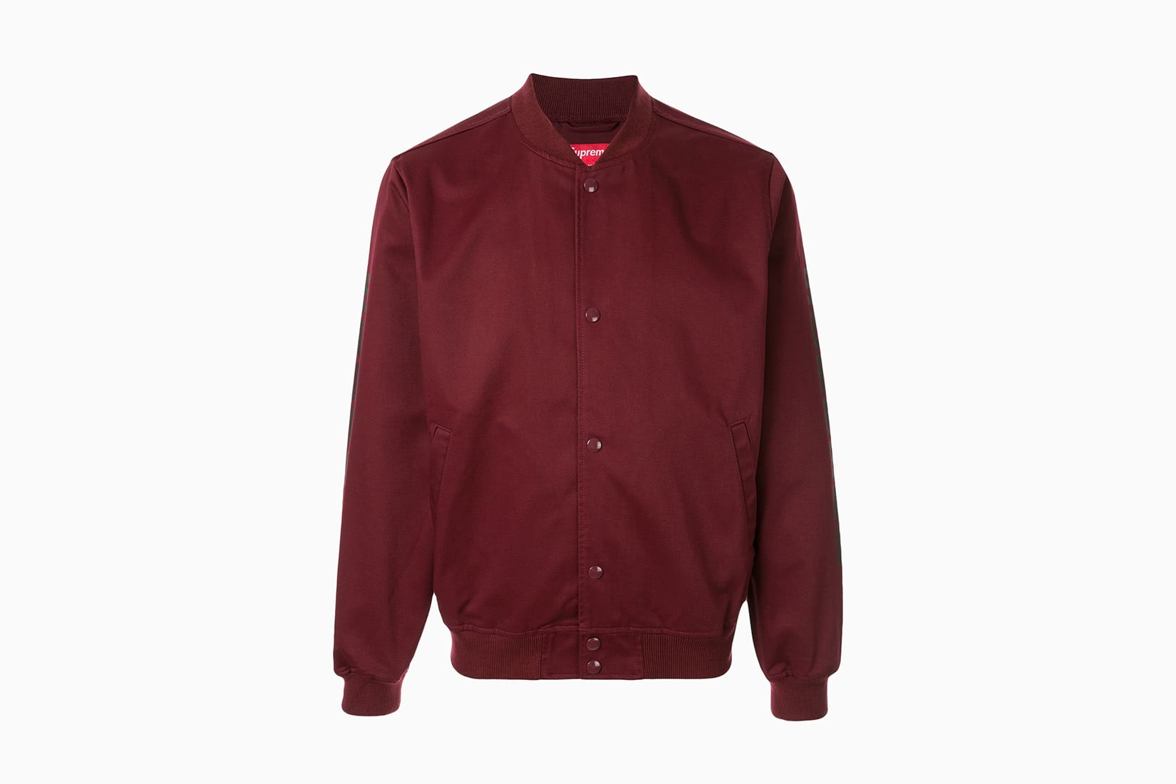 best men bomber jacket burgundy Supreme Anti Hero review - Luxe Digital