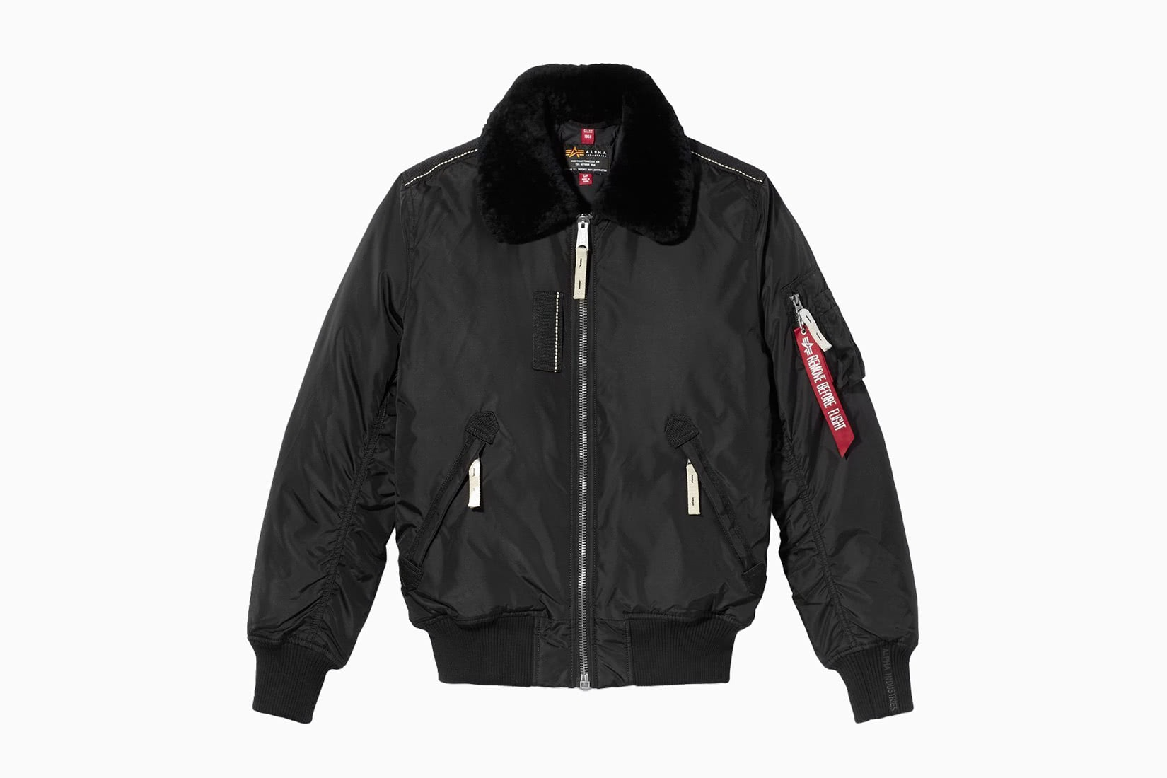 best men bomber jacket durable Alpha Industries Injector III review - Luxe Digital