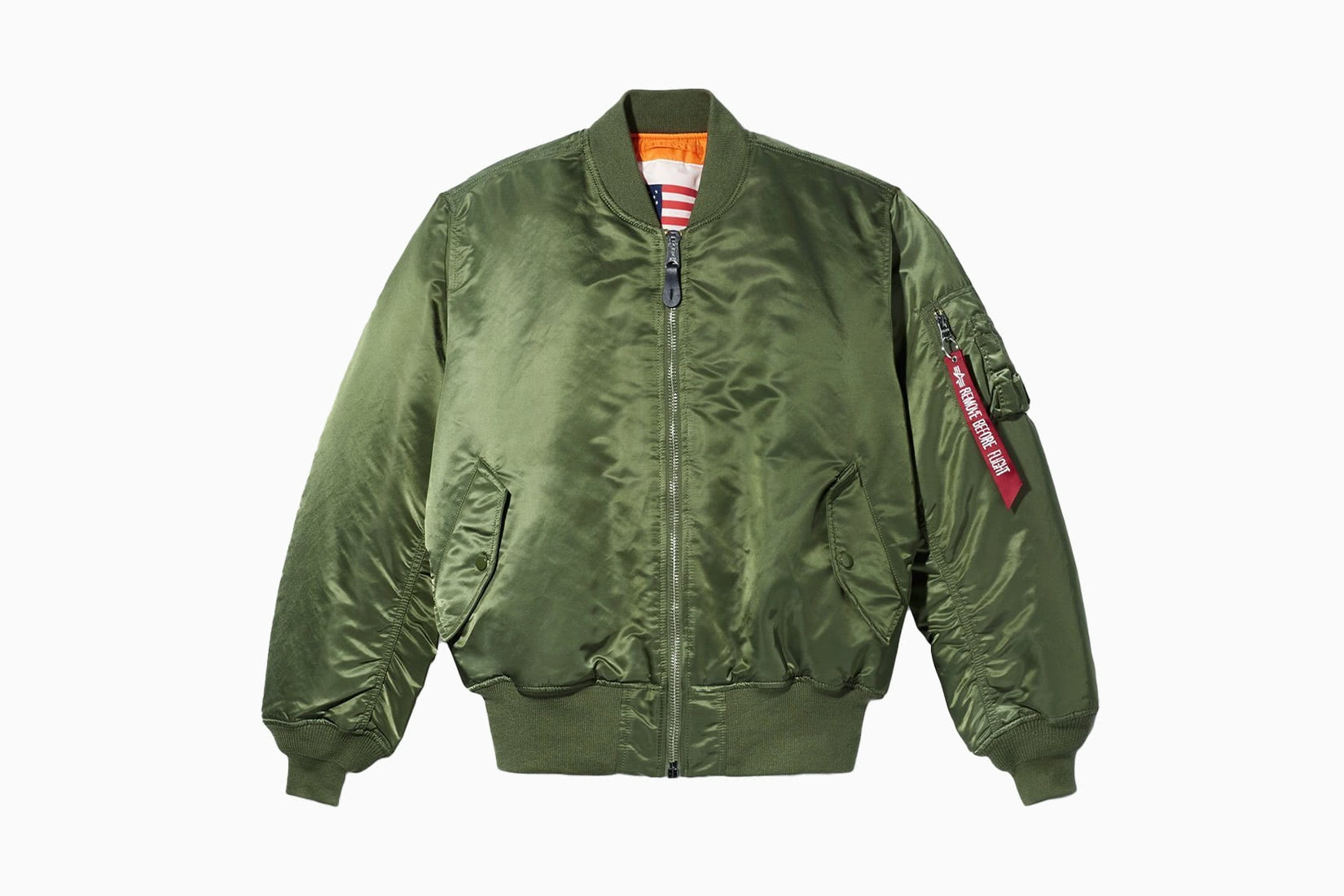 best men bomber jacket green Alpha Industries Blood Chit review - Luxe Digital