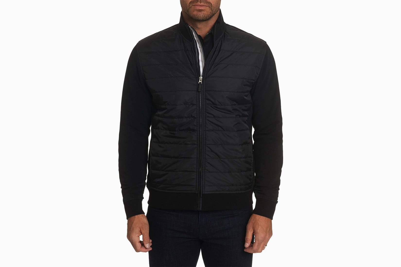 best men bomber jacket mid-season Robert Graham review - Luxe Digital