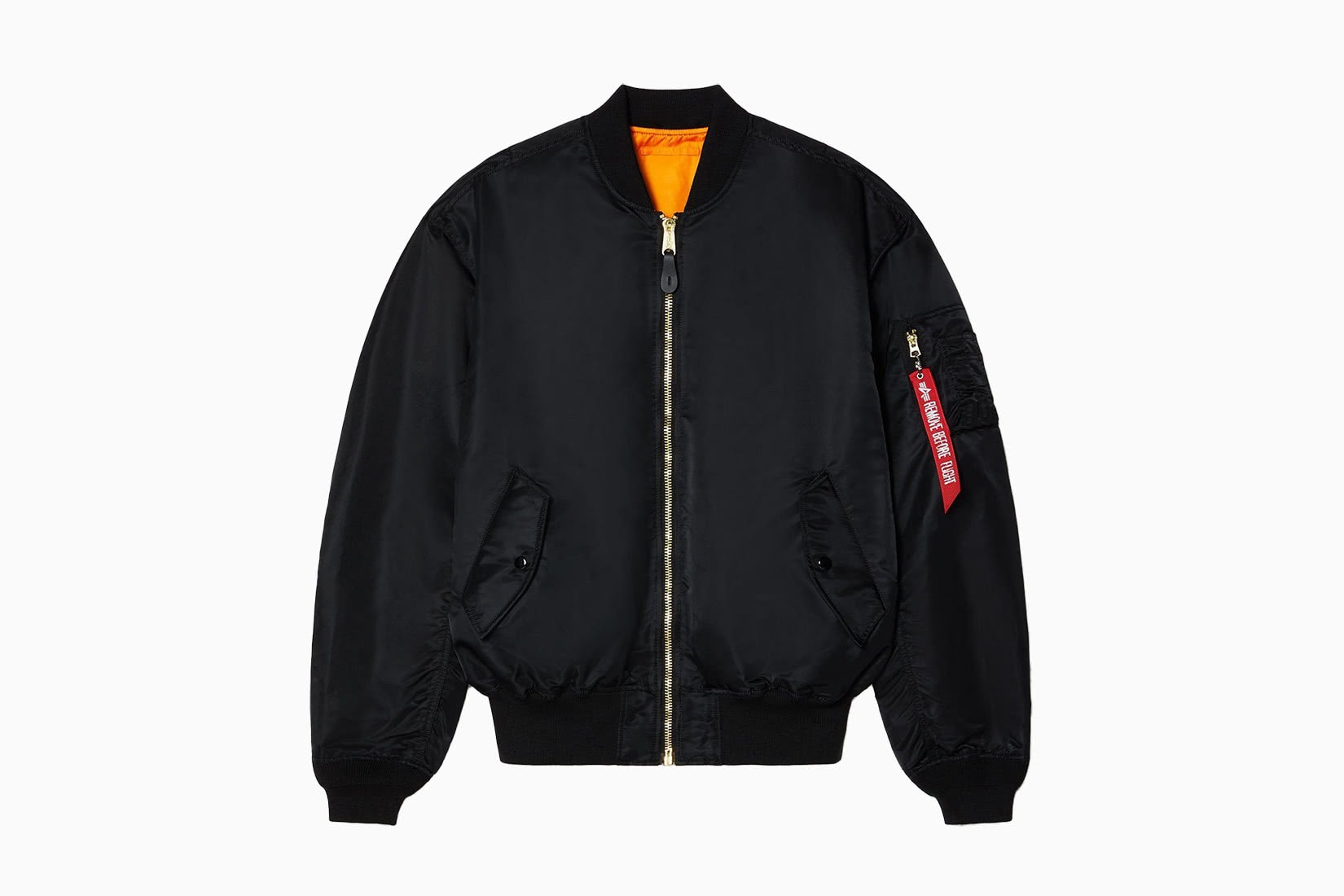 best men bomber jacket nylon Alpha Industries L-2B review - Luxe Digital